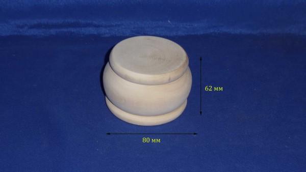Шкатулка  круглая  14.080