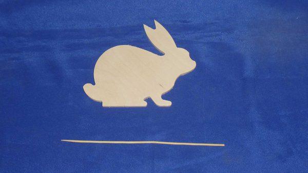 Заяц на палочке 22.021