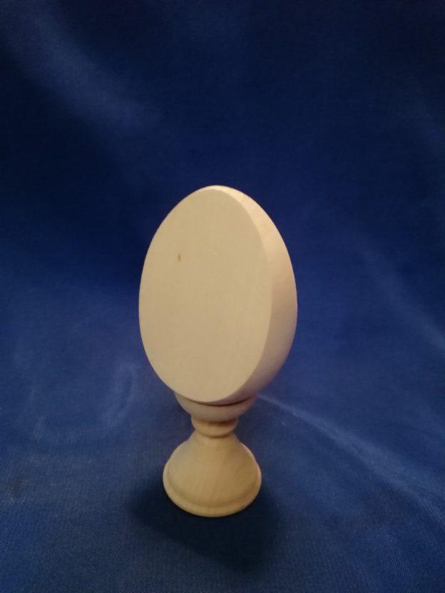 Заготовка яйцо на  подставке 14.173