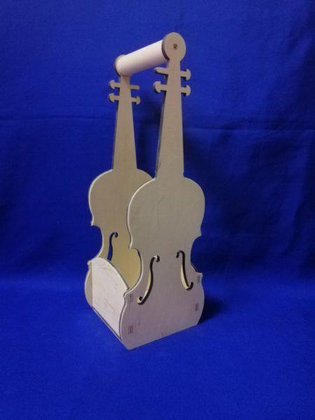 Футляр для бутылки скрипка 17.246