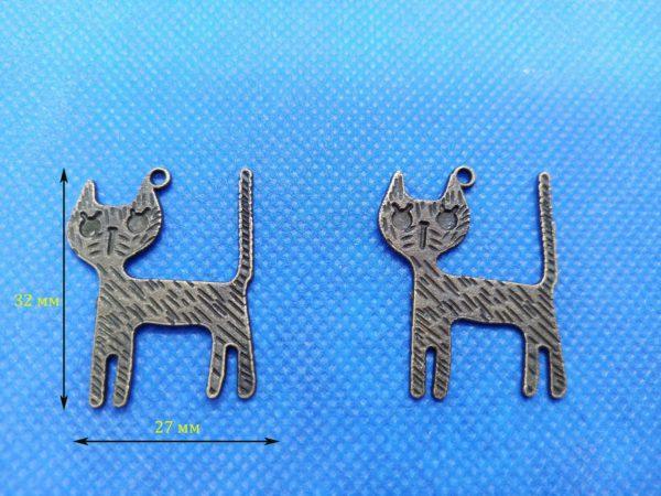Декор металевий Кішка 16.62