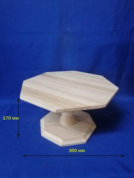 Подставка для торта восьмигранная  21.145