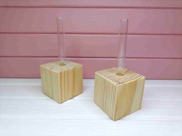 Кубик під одну пробірку. 21.002